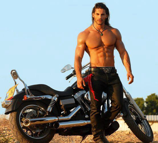 Bikes and Hot Men...Yum!